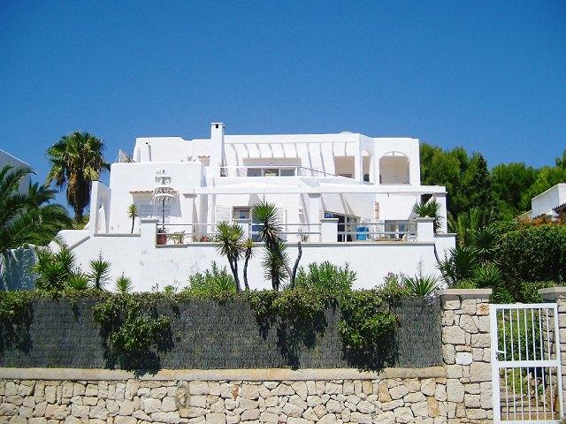 Villa con vista al mar en Cala Egos