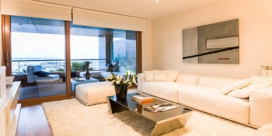Frontline Luxury Apartments views across the bay of Palma