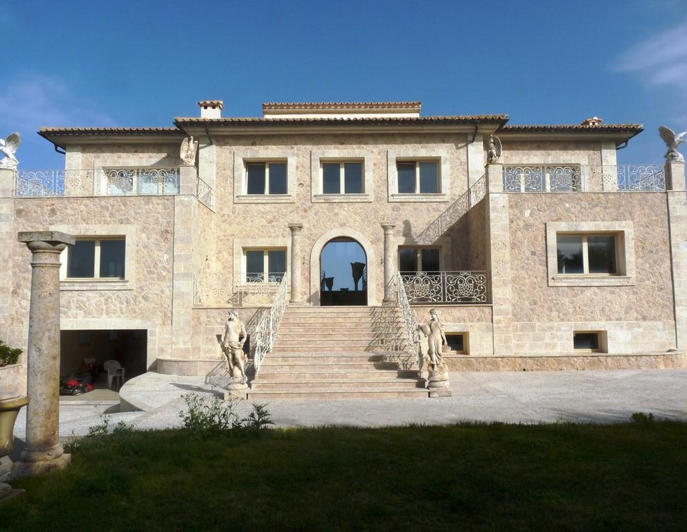 Villa en la montaña  con una vista panorámica única