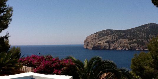 Camp de Mar: Villa mit herrlichem Meerblick