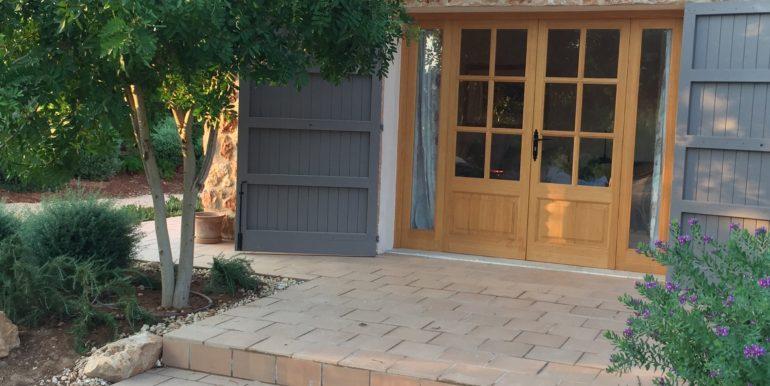 Gästehaus-Eingang